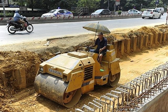 Working under heat 40C