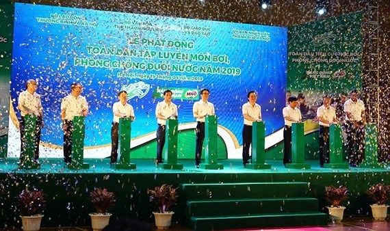 Drown prevention program launched in Hanoi