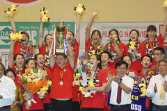 Giải bóng chuyền VTV9 Bình Điền: CLB Tứ Xuyên đăng quang