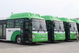 Hanoi to launch four new CNG-fueled bus routes in 2019