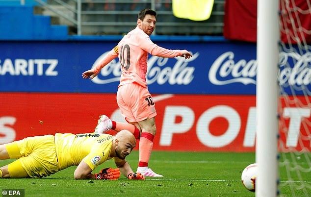 Eibar,Barca,Messi