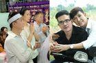 Long Nhật đội khăn trắng trong tang lễ ca sỹ Vương Bảo Tuấn