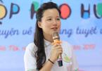 MC Minh Trang dành cả thanh xuân chọn sách đọc cho trẻ nhỏ
