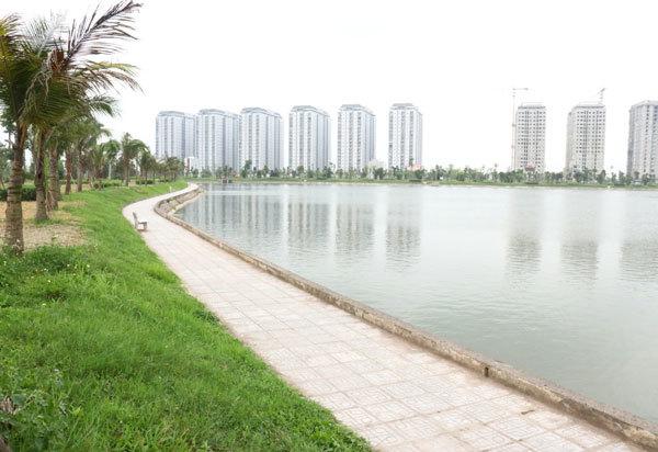 công viên nước,khu đô thị