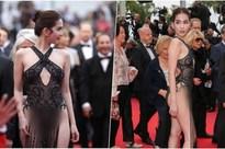 Bị chỉ trích 'mặc như không' tại Cannes, Ngọc Trinh đáp lại: 'Đạt hiệu ứng thảm đỏ là được'