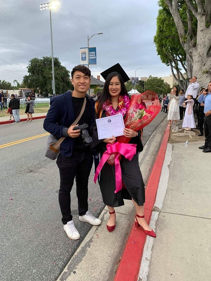NSND Hồng Vân hạnh phúc dự lễ tốt nghiệp của con gái tại Mỹ