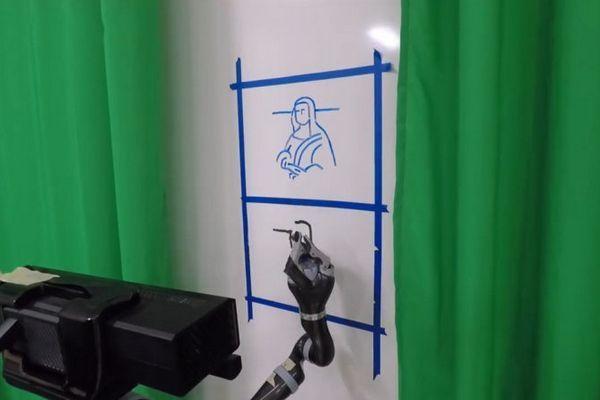 Robot có thể giả chữ viết tay và nét vẽ của bất kỳ ai