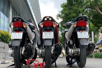 Bộ ba Honda SH biển lục quý 5 giá 2 tỷ của dân chơi Sài Gòn