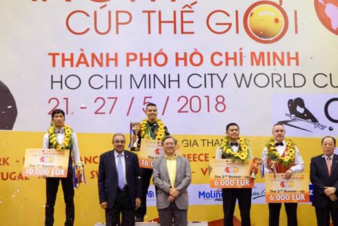HCM City set to host three-Cushion Carom Billiards World Cup