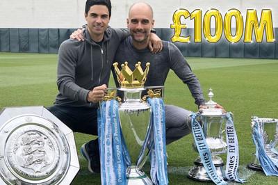 """Guardiola được Man City thưởng hợp đồng """"siêu khủng"""""""