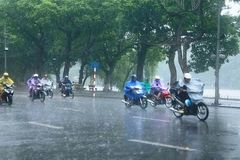 Northern Vietnam to see rains after hot days