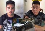 Chân tướng nhóm trộm xe Lexus ở Đà Nẵng, đưa ra Nam Định đổi màu sơn