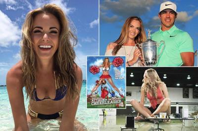 Nữ diễn viên xinh đẹp giúp Koepka giành PGA