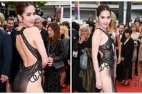 Dàn sao Việt gay gắt chỉ trích chiếc váy 'không biết xấu hổ' của Ngọc Trinh trên thảm đỏ Cannes