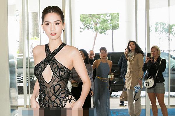 Bộ Văn hóa: Hình ảnh Ngọc Trinh ở Cannes quá phản cảm