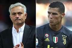 Ronaldo tiến cử Mourinho làm HLV trưởng Juventus