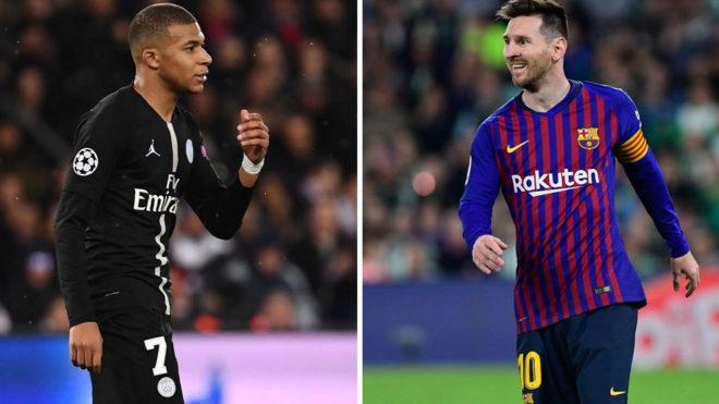 Mbappe: Messi sẽ đoạt Quả bóng vàng 2019 thôi