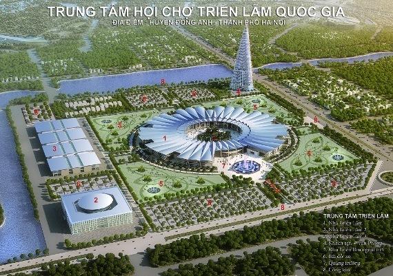 quy hoạch chung thủ đô,điều chỉnh quy hoạch,đô thị vệ tinh,Trung tâm Hội chợ triển lãm quốc gia