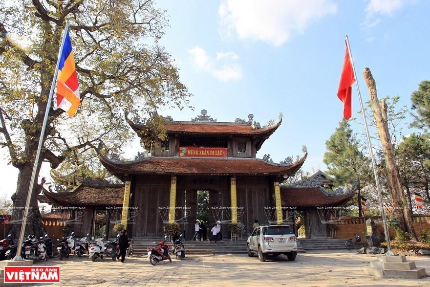 Ancient pagoda in Hung Yen