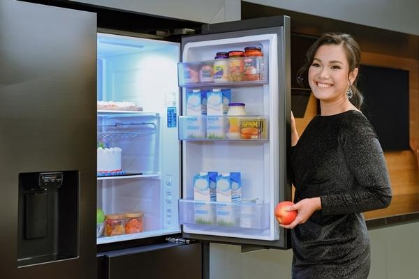 Tủ lạnh Samsung Side by Side RS5000- thổi hồn cho căn bếp hiện đại