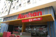 Auchan's three supermarkets in HCMC remain operational