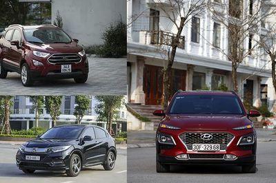 """So sánh """"độ hot"""" bộ 3 mini SUV tại Việt Nam"""