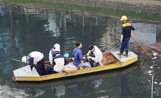To Lich River clean-up shows progress