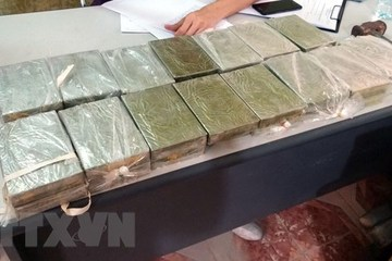Hai Duong police bust biggest-ever heroin smuggling case