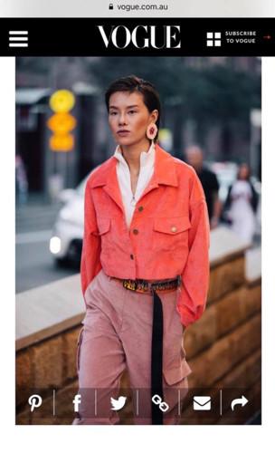 Debut Vogue appearance for Vietnamese model Ha Kino