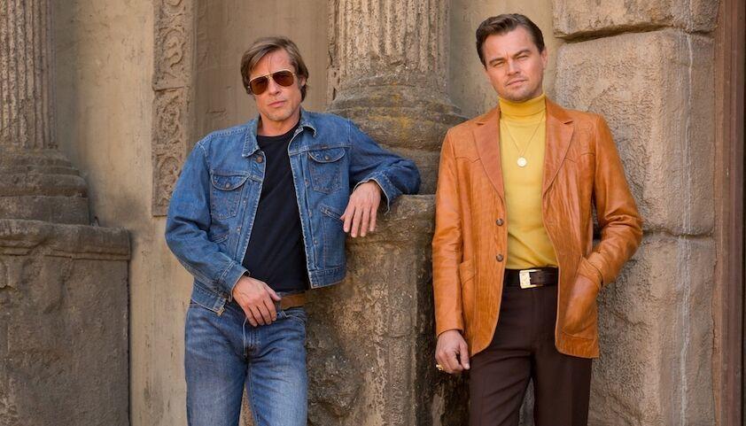 Brad Pitt và Leonardo DiCaprio kết hợp ăn ý trong phim phô bày mặt trái của Hollywood