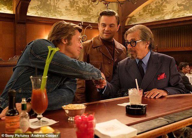 Margot Robbie,Brad Pitt,Leonardo DiCaprio,Upon a Time in Hollywood