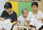 Mothers of sick children learn to support themselves with embroidery