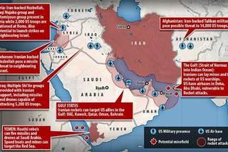 Iran 'bày binh bố trận' khắp vùng, sẵn sàng nghênh chiến với Mỹ