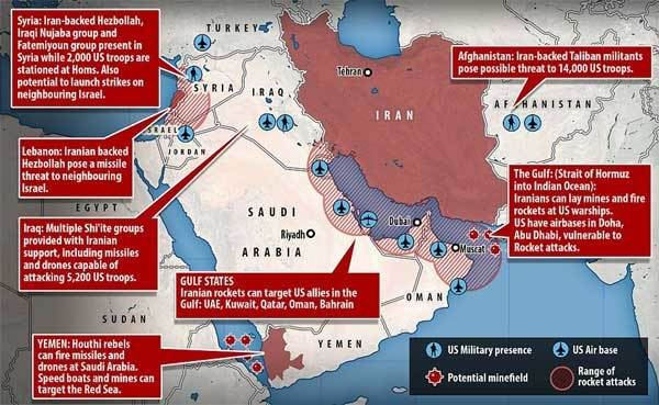 căng thẳng Mỹ-Iran,nguy cơ chiến tranh,Mỹ