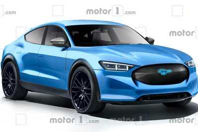"""""""Ngựa hoang"""" của hãng Ford lộ diện bản chạy điện"""