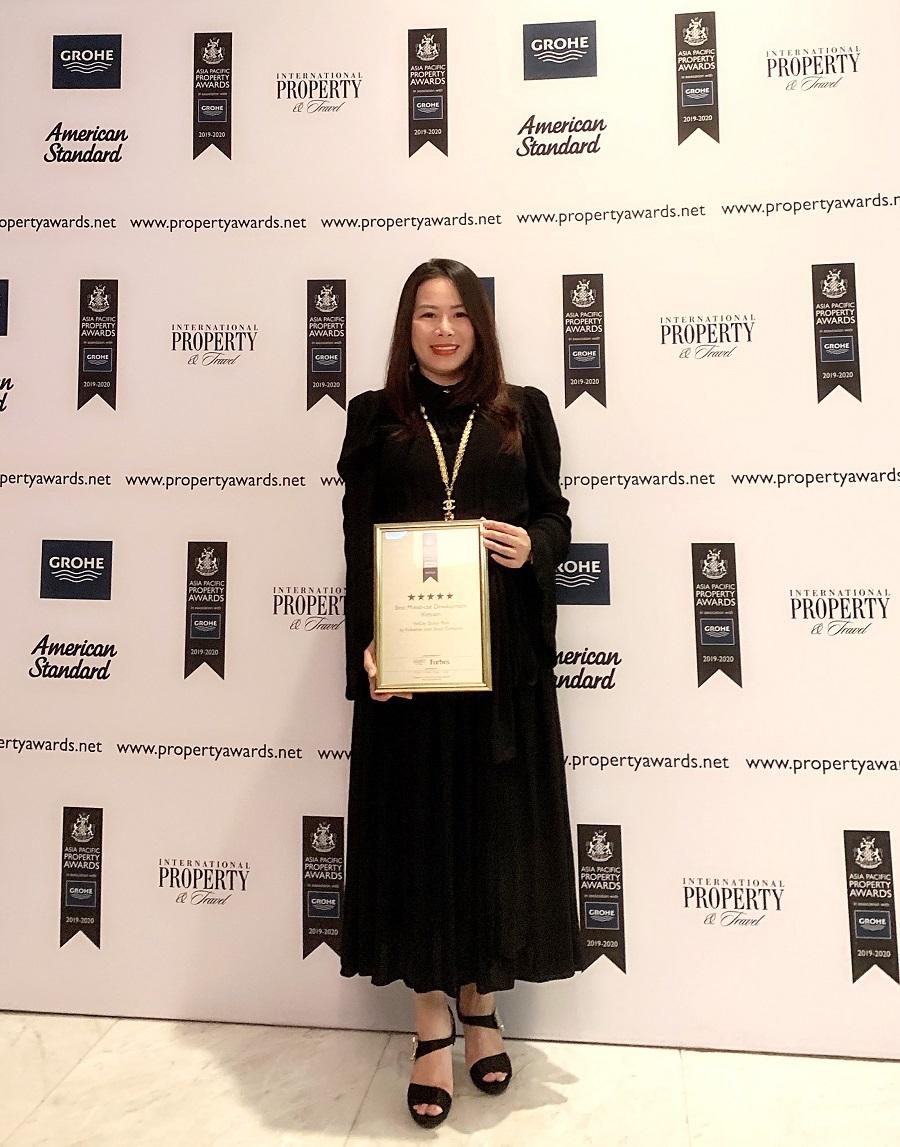 Vinhomes Ocean Park nhận giải 'dự án phức hợp tốt nhất Việt Nam' tại Appa