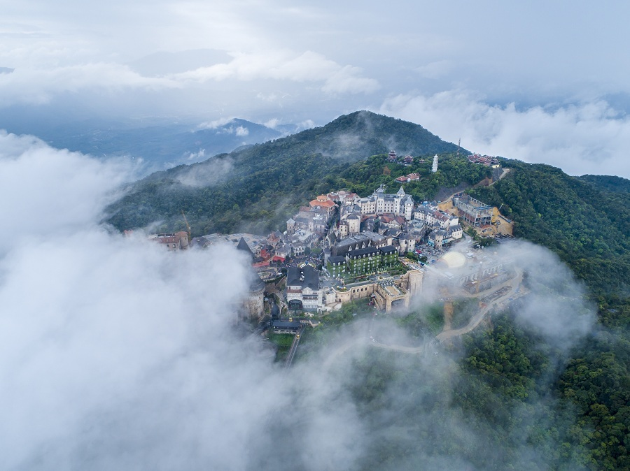 Ba Na Hills - from a neglected mountain town to a tourism Mecca