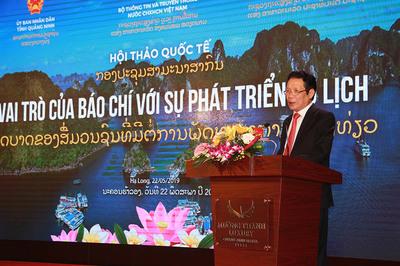 'Báo chí, truyền thông cần đưa ra chiến lược dài hạn để phát triển du lịch'