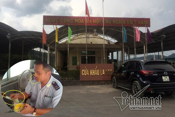'Luật ngầm' ở cửa khẩu La Lay: Hải quan Quảng Trị đình chỉ 4 cán bộ