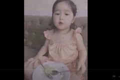 Video: Biểu cảm của cô bé sau khi mắc lỗi 'đốn tim' dân mạng