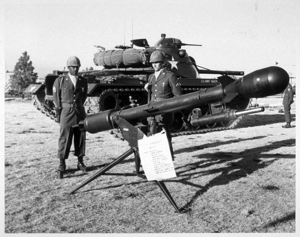 Vũ khí hạt nhân,Davy Crockett,đầu đạn hạt nhân mini