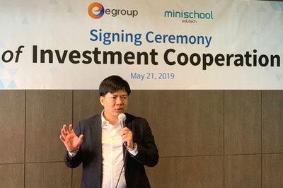 Bắt tay với startup Minischool, Shark Thủy chính thức đầu tư vào Hàn Quốc
