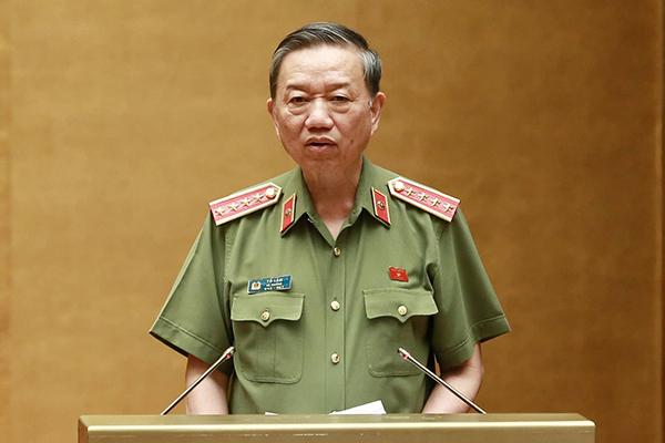 phạm nhân,Bộ trưởng Công an,Tô Lâm