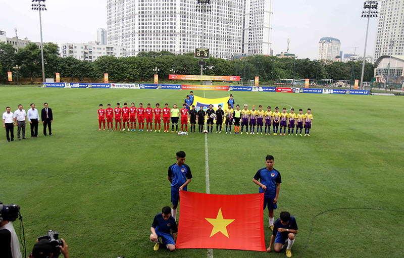 Hà Nội thắng đậm trận ra quân giải bóng đá nữ Cúp quốc gia 2019