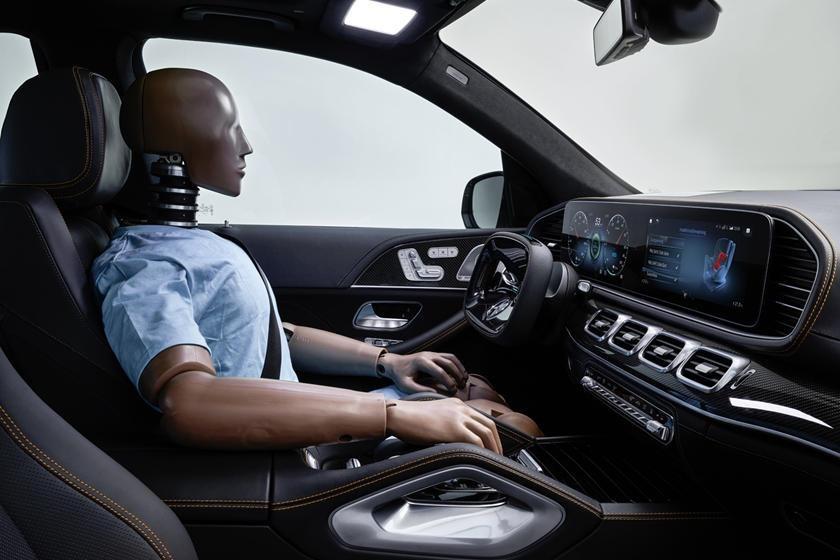 Mercedes,ô tô tự lái,ô tô có robot bảo vệ