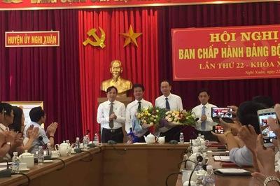 Giám đốc Sở TT&TT Hà Tĩnh được bầu giữ chức Bí thư huyện ủy