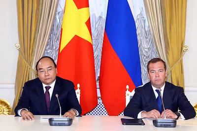Thủ tướng Nguyễn Xuân Phúc và Thủ tướng Nga họp báo chung