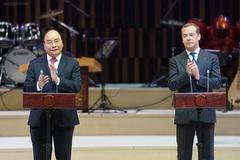 Thủ tướng Việt Nam và Nga dự lễ khai mạc 'Năm chéo'