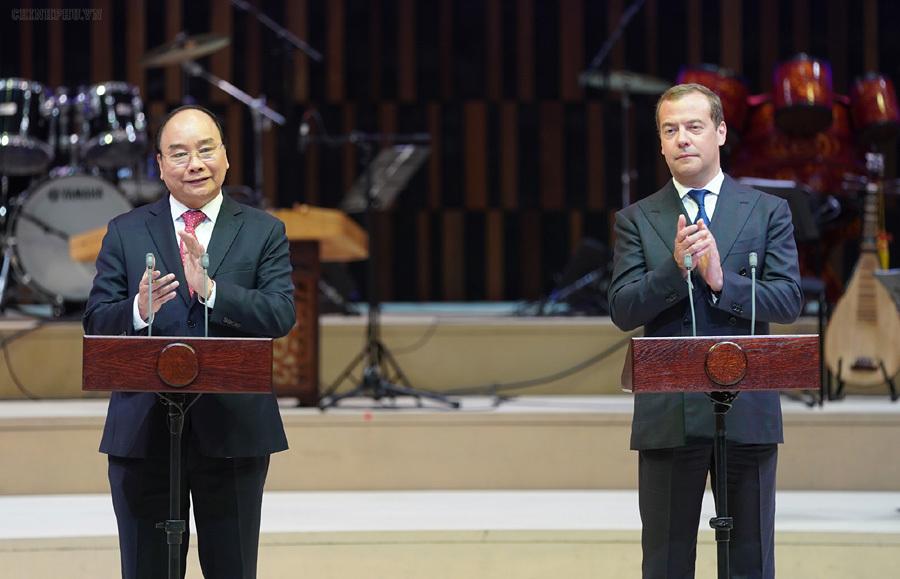 Thủ tướng Nguyễn Xuân Phúc,Nguyễn Xuân Phúc,Thủ tướng,Nga