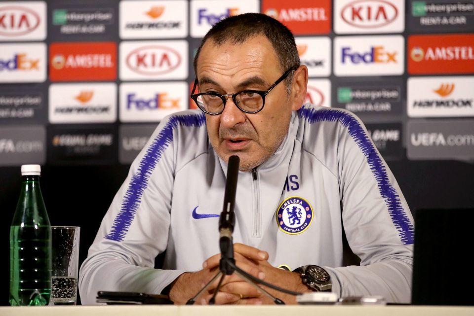 Chelsea,Maurizio Sarri,Arsenal